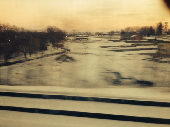 PA from the train