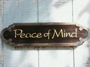 peac of mind