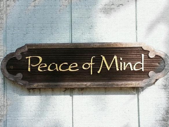 peac of mind