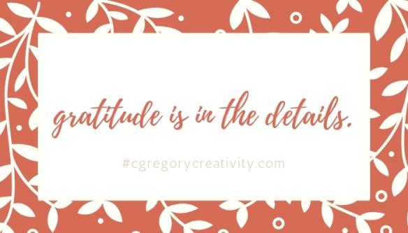 gratitude details
